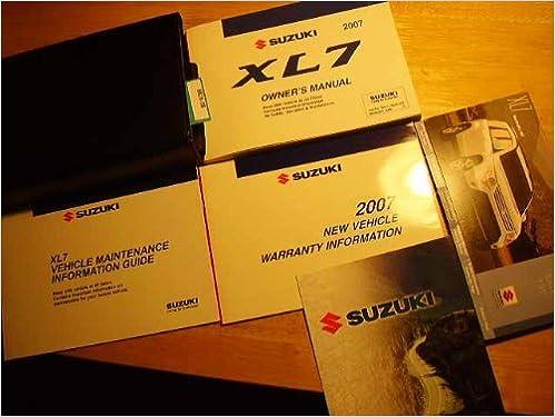 Suzuki xl-7 repair manual / service manual online 2003, 2004.
