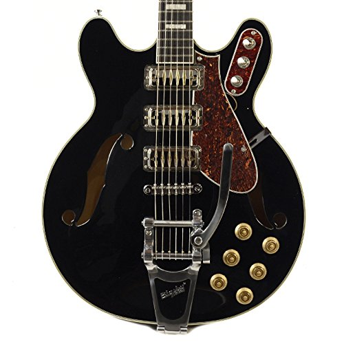Airline H78 Black w/Bigsby - Guitar Airline