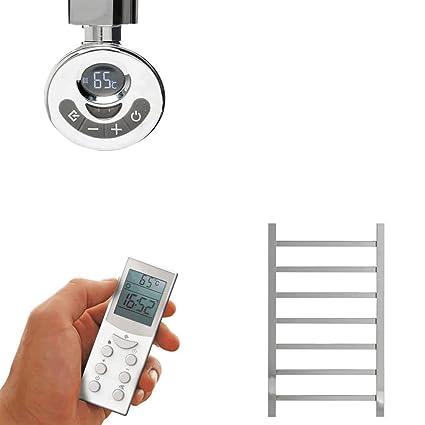 Calefactor eléctrico con varilla de calefacción y regulador, Radiador, Radiador-calentador de toallas