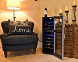Avalon Bay AB-WINE27DS 27 Bottle Dual Zone Wine Cooler