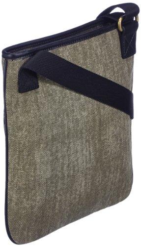 PUMA Schultertasche Originals Flat Portable Canvas - Bandolera, color verde oscuro, talla Talla única