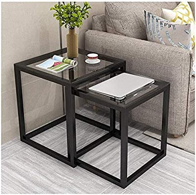 E W Nwn Small Coffee Table Nest Of 2 Tables Creative Combination