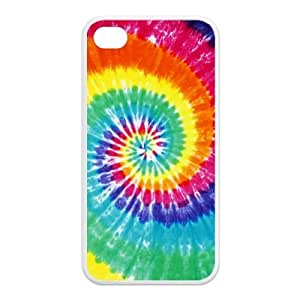 Generic Tie Dye TPU Case Cover for Iphone 4/4s