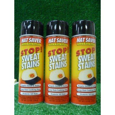 Hat Saver Spray - Prevent Sweat Stains (3-(Pack)) by Charter