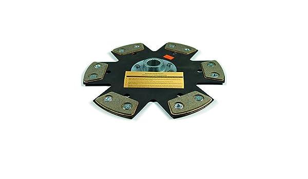 EFT rígido cerámica 6-puck embrague Disco Scion tC 2 AZFE Toyota Camry RAV4 Solara 2.4L: Amazon.es: Coche y moto