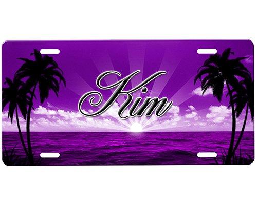 Beach Scene License Plate - Airbrush Plate Shopping Results