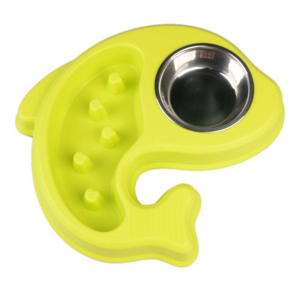 Tutuba Slow Feed Dog Bowl,Fun Feeder Slow Bowl With Water Bowl Sets
