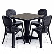 Nardi Giove Resin Outdoor Bistro Set