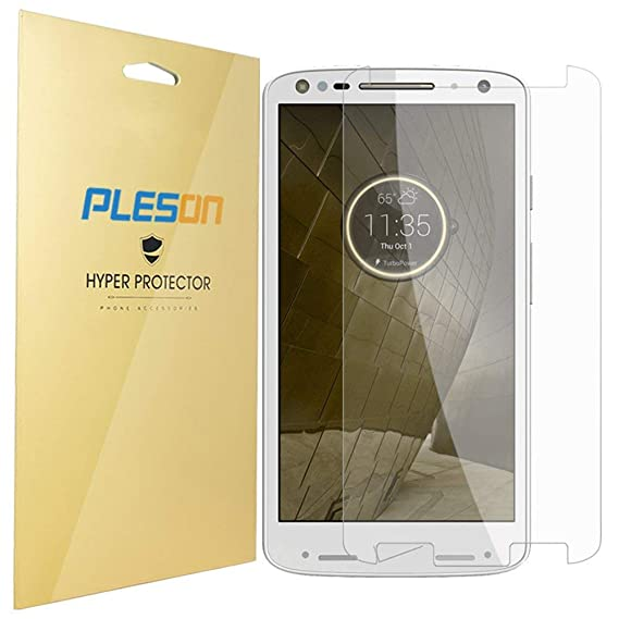 Droid Turbo 2 Screen Protector, PLESON [3-Pack] Motorola Droid Turbo 2