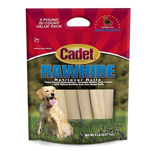 Cadet Rawhide Retriever Rolls Dog Chews (Red Barn Chicken Jerky)