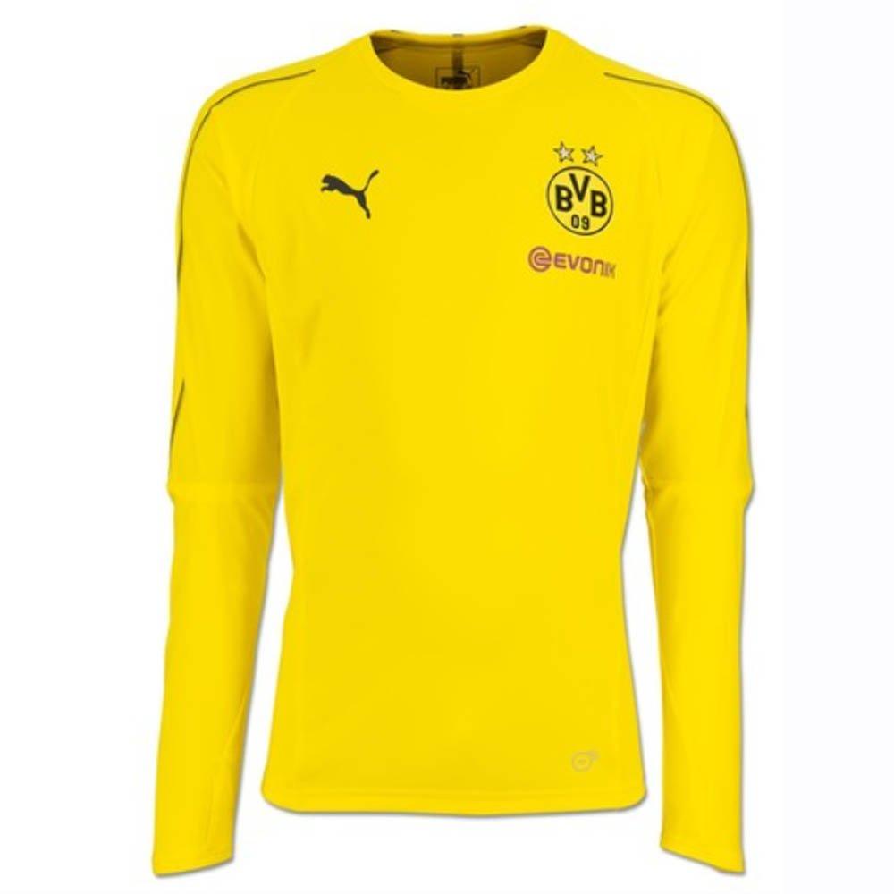 Puma 2018-2019 Borussia Dortmund Long Sleeve Training Shirt (Gelb) - Kids