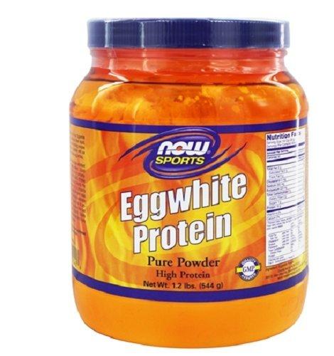 NOW Sports Eggwhite Protein Powder, 1.2-Pound