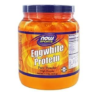 NOW Sports Eggwhite Protein, 1.2-Pound