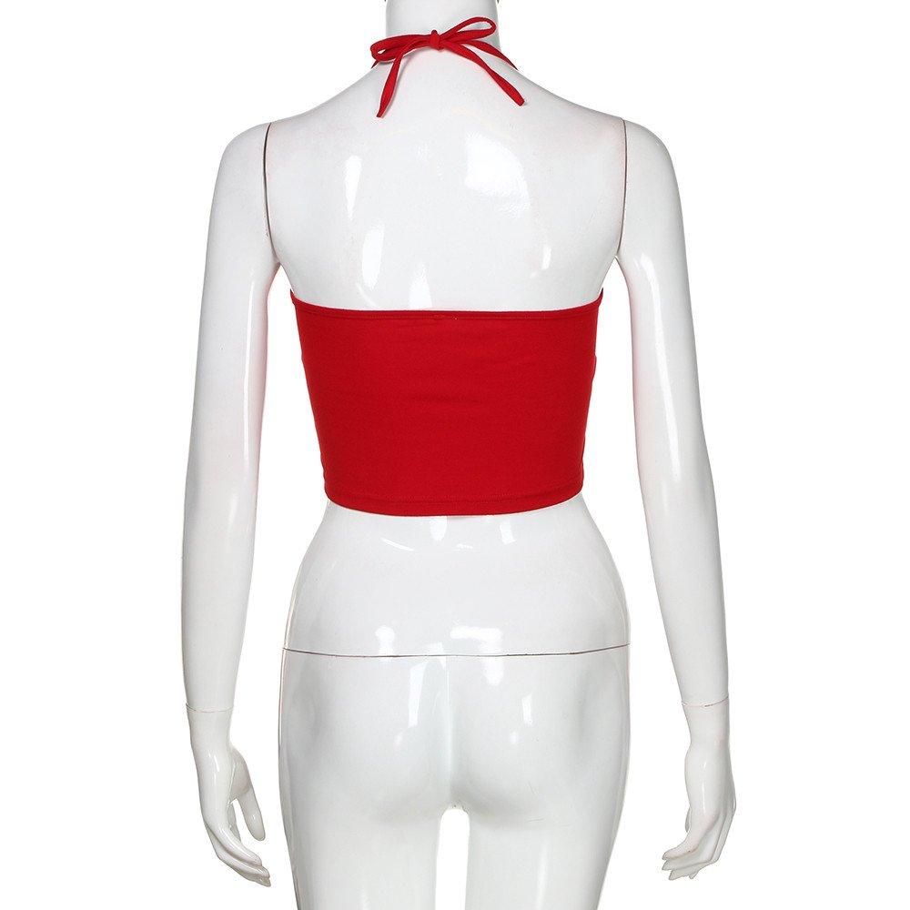 Amazon.com: YKARITIANNA 2019 Summer Women Sleeveless Halter Twisted Pleated Tank Top Blouse: Arts, Crafts & Sewing