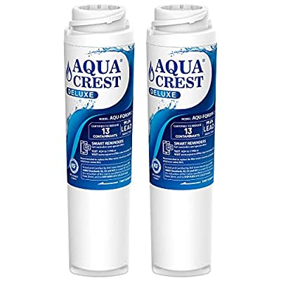 AQUACREST FQROPF NSF 401,53&42 Certified to Reduces Lead, Chlorine, Taste & Odor, Cyst, Benzene and More, Compatible with GE FQROPF Reverse Osmosis Water Filter (1 Set)