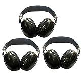 Best Infrared Headphones - 3 Pack of Audio Listening headsets Infrared Headphones Review