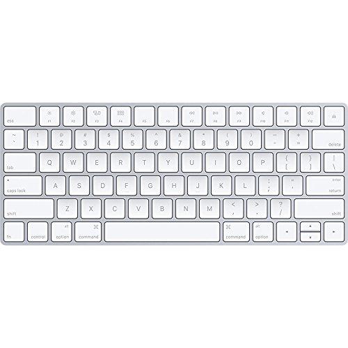 - Apple Wireless Magic Keyboard 2, Silver (MLA22LL/A) - Certified Refurbished