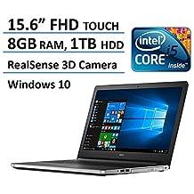 Dell Inspiron 15 5000 FHD Touchscreen Laptop (i5-6200U, 8GB RAM, 1TB HDD, Windows 10)