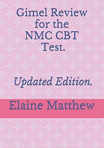Gimel Review NMC CBT Test,  Updated Edition.: Gimel Review NMC Part One Test.