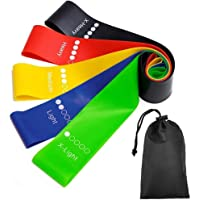 Resistance Band fitness 6Levels Latex Gym Strength Training Rubber Loops Bands Fitness CrossFit Equipment Yoga Exercise…