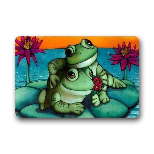 23.6X15.7 Classic Design SENL Frog Custom Durable Non-Slip Indoor//Outdoor Machine Washable Decor Bathroom Mats