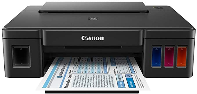 Canon Impresora de Inyección de Tinta Continua G1110, Mediano, Negro: Amazon.com.mx: Electrónicos