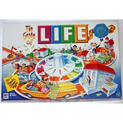 5Star-TD The Game of Life: 40th Anniversary Edition: Toys & Games