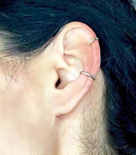 Amazon.com: Ear Charms Southwest 3 Leaf Long Wave Ear Cuff