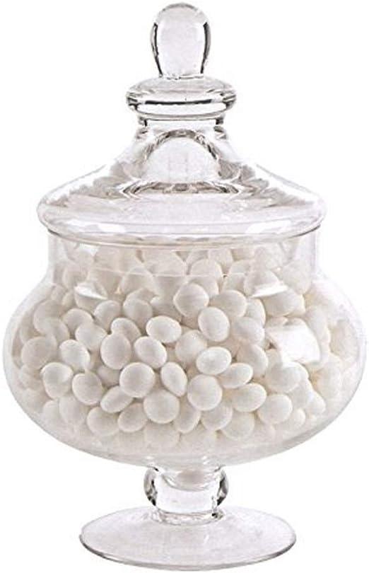 Nuevo 25 cm decorativo Jarra de jarra de cristal boda centro de ...