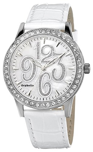 Orphelia OR22170811 - Women's Watch, Leather, White Color