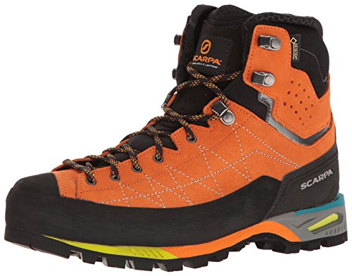 - SCARPA Men's Zodiac TECH GTX Mountaineering Boot, Tonic, 46.5 EU/12.5 M US