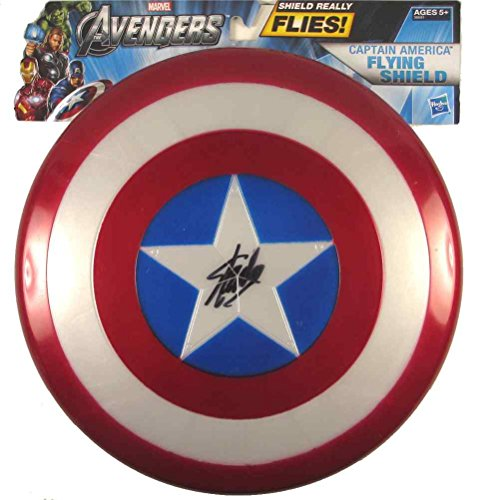 Stan Lee Captain America Avengers Endgame Signed Flying Shield Certified Authentic PSA/DNA COA