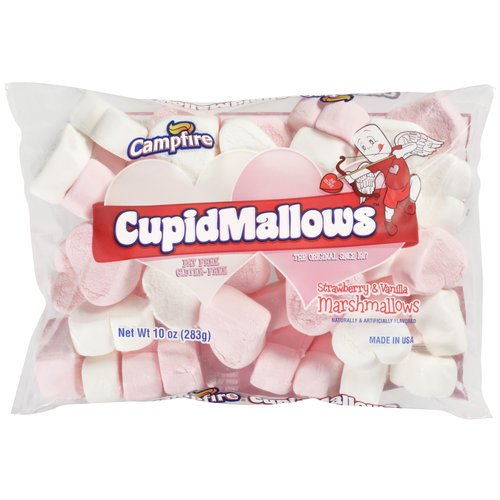 Campfire Heart Shaped Cupid Marshmallows 10 Ounce Pkg
