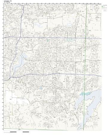 Worksheet. Amazoncom ZIP Code Wall Map of Arlington TX ZIP Code Map Not