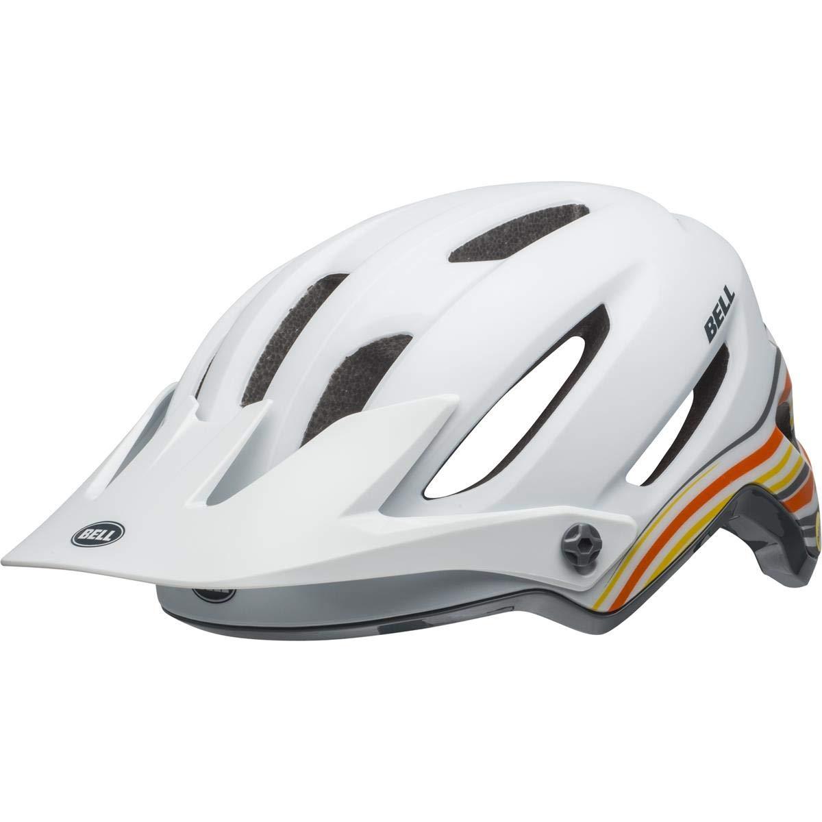 BELL 4Forty MIPS MTB Fahrrad Helm weiß grau 2019