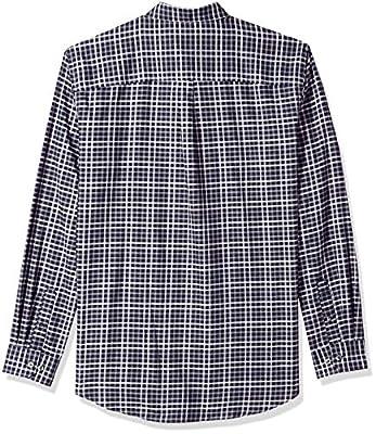 Van Heusen Men's Big and Tall Flex Long Sleeve Button Down Stretch Plaid Shirt