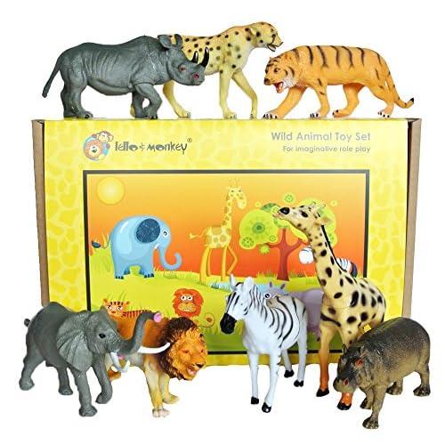 Toy Animal Set Zoo Animals Toys Large Animals Set Toy Animal