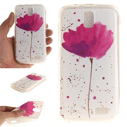 online store 8afed 2ba29 Amazon.com: A328 Case, Lenovo A328 Case, Ngift [Flowers] Soft Skin ...