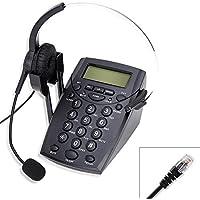 Cheeta Call Center Telephone With Headset, Redail & Mute Design