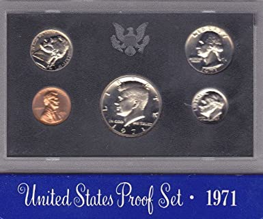 1971-S US 5-COIN PROOF SET