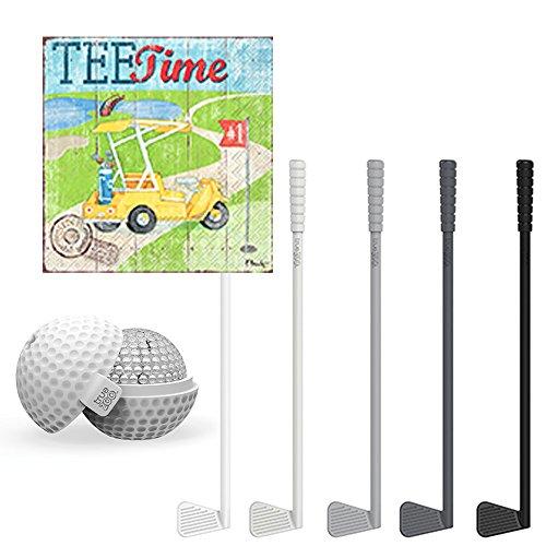 Golf Drink Party Supplies - Golf Club Swizzle