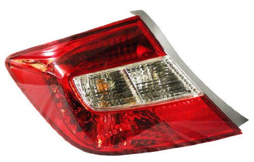 Honda Civic 4 Door Driver Side Replacement Tail Light ()