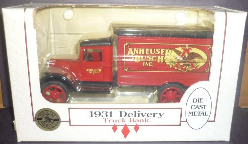 Ertl Anheuser-Busch 1931 Delivery Truck 1/34 Scale Diecast Bank by ERTL