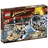 LEGO - 7197 - Jeu de construction - Indiana Jones - Poursuite à Venise
