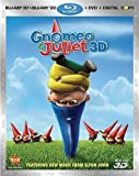 Gnomeo and Juliet (Three-Disc Combo: Blu-ray 3D/Blu-ray/DVD + Digital Copy) by Touchstone