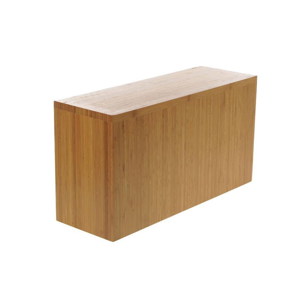 Cal-Mil 166-11-60 Bamboo Rectangle Riser, 11''H