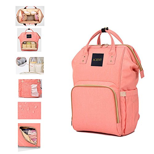 ACJENY Diaper Bag Multi-Function Large Capacity Backpack Mum