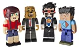 Zoofy International Deluxe Gaming Action Figure Pack