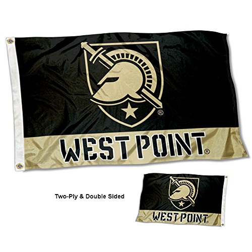 College Flags and Banners Co. Army Black Knights West Point Double Sided Flag ()