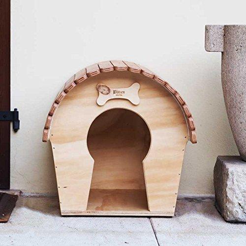 Caseta para perro Casa outdoor para perros tamaño pequeño, novedad Blitzen, DogVoyeur mm, resistente a la lluvia y termoregolata.: Amazon.es: Jardín